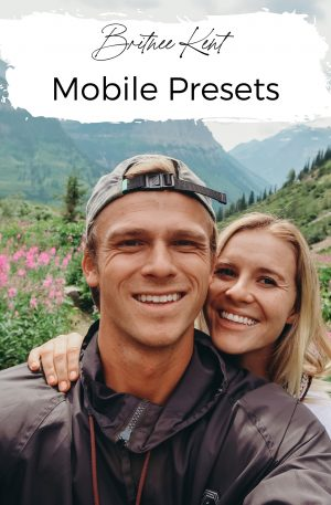 Brit's Light and Airy Presets Collection: Mobile Presets